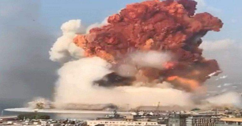 انفجار قوي يهز العاصمة بيروت واستنفار أمني في المنطقة 1