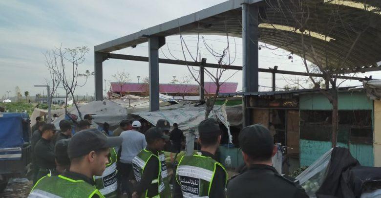 """عشرات الإصابات تعجل بإغلاق سوق حي """"بنكيران"""" لمدة 15 يوما 1"""