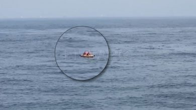 """إنقاذ 8 مغاربة حاولوا الوصول لإسبانيا على متن قوارب الـ""""كاياك"""" 2"""