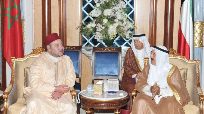 الملك محمد السادس يعزي في وفاة أمير دولة الكويت 1