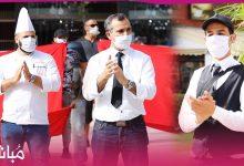 مموني الحفلات بطنجة يحتجون أمام مقر الولاية ويطالبون بالترخيص لهم لإستئناف الأعراس والمناسبات 9