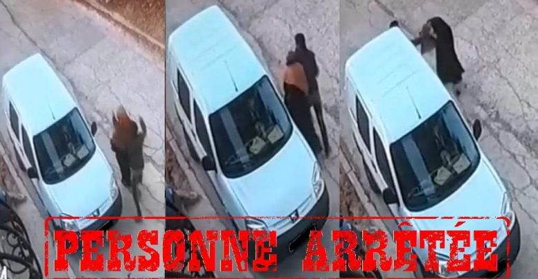 توقيف بطل فيديو الإعتداء على سيدة بطنجة 1