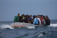 درك طنجة يعترض قاربين للهجرة السرية ويعتقل منظم العملية 9