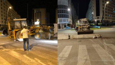 سلطات طنجة تشرع في إزالة الحواجز من شوارع المدينة 5