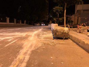 سلطات طنجة تشرع في إزالة الحواجز من شوارع المدينة 2