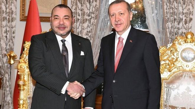 الملك يبعث برقية تهنئة إلى أردوغان 1