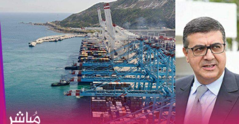 ميناء طنجة المتوسط..خصاص البواخر يهدد مستقبل صادرات المغرب 1