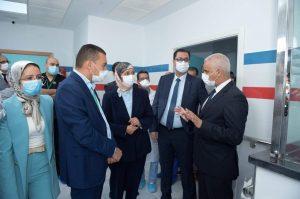 وزير الصحة يدشن قسم المستعجلات الجديد بمستشفى سانية الرمل بتطوان 3