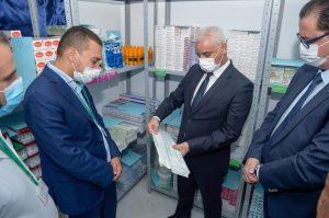 وزير الصحة يدشن قسم المستعجلات الجديد بمستشفى سانية الرمل بتطوان 2