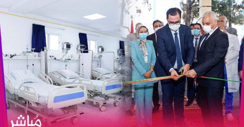 وزير الصحة يدشن قسم المستعجلات الجديد بمستشفى سانية الرمل بتطوان 1