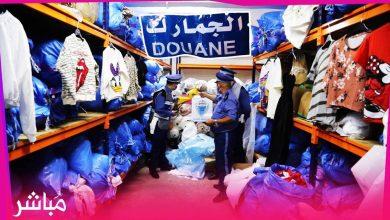 جمارك طنجة تداهم مستودعا بحي مغوغة وتحجز ألاف الملابس الجاهزة لماركات عالمية 6