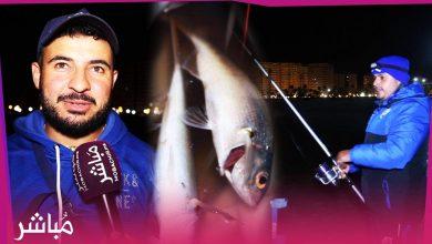 هواة الصيد بالقصبة بطنجة يعودون للبحر بعد غياب دام شهور بسبب الجائحة 3
