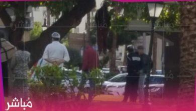 انتحار شاب وسط الشارع العام بطنجة (صور) 2
