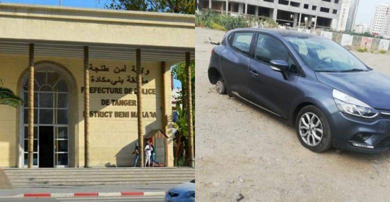 الأمن يكبح جماح سارق عجلات السيارات بحي طنجة البالية 1