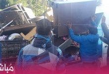 """السلطات تشنّ حملة لتحرير الملك العمومي بحي """"بنكيران"""" بطنجة 4"""