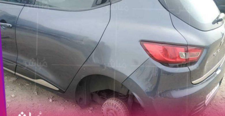 شبكة متخصصة في سرقة عجلات السيارات بطنجة تقلق المواطنين 1