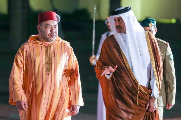 أمير قطر ينوه بتدخل الجيش المغربي بالكركرات ويعبر عن مساندته للمغرب 1