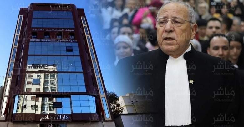 محامو طنجة يشلون محاكم المدينة لمدة ساعتين تضامنا مع زميلهم 1