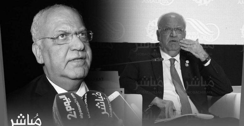 وفاة صائب عريقات كبير المفاوضين الفلسطينيين 1