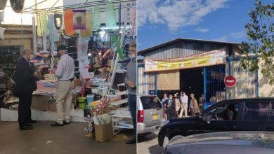 السفير الأمريكي يقوم بزيارة مفاجئة لسوق كاسباراطا بطنجة (صور) 6