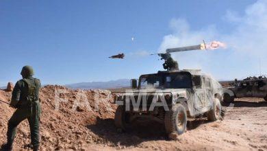 """الجيش المغربي يشتبك مع ميليشيات """"البوليساريو"""" ويُدمر حاملة سلاح 3"""