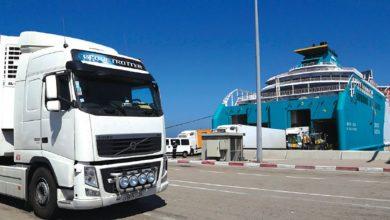 مهنيو النقل الدولي يضربون عن العمل بسبب غرامات الإسبان 4