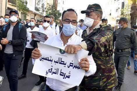 نقابة تستنكر قمع الممرضين وتقنيي الصحة وتدعو للتجاوب مع مطالبهم العادلة 1