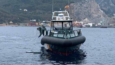 """سبتة..الحرس المدني الإسباني يضبط 170 كلغ من """"الحشيش"""" بعرض البحر 5"""