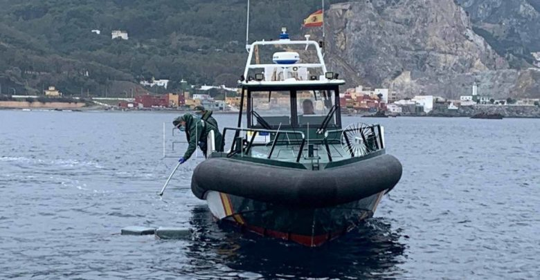 """سبتة..الحرس المدني الإسباني يضبط 170 كلغ من """"الحشيش"""" بعرض البحر 1"""