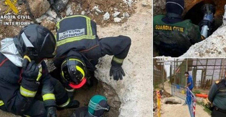 مؤلم..مصرع 4 مهاجرين سريين مغاربة حاولوا التسلل إلى ثغر مليلية عبر أنابيب الصرف الصحي 1