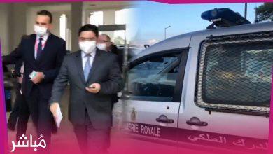 إجراءات أمنية مشددة لحظة وصول وزير الخارجية ناصر بوريطة لإجتماع مجلس النواب الليبي بطنجة 5