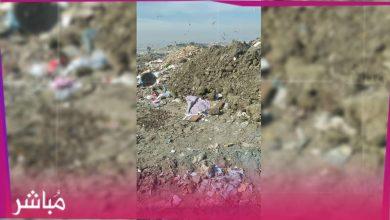 العثور على رضيع حديث الولادة بمطرح النفايات بمغوغة 3