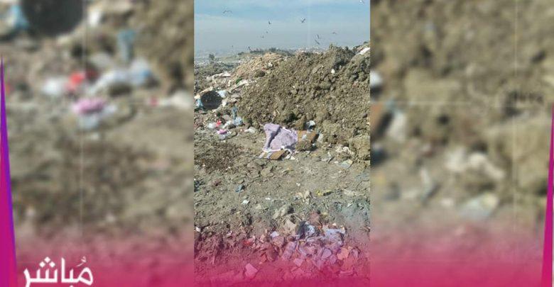 العثور على رضيع حديث الولادة بمطرح النفايات بمغوغة 1