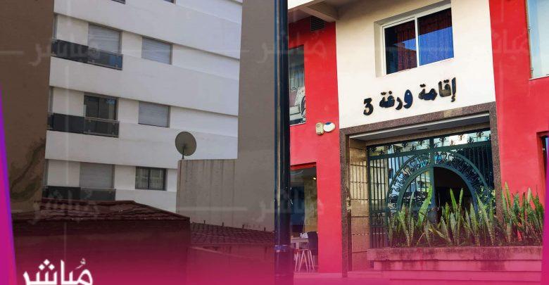 سقوط حارس عمارة من علو 7 طوابق بطنجة 1