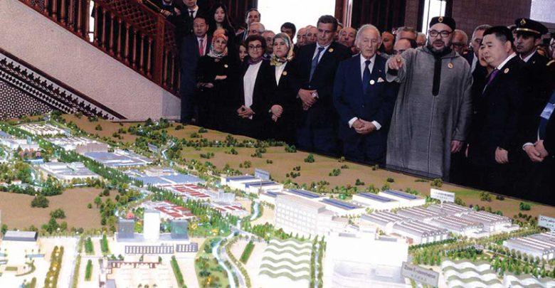 """التوقيع على اتفاقيات الانطلاق الفعلي لمشروع مدينة محمد السادس """"طنجة تيك"""" 1"""