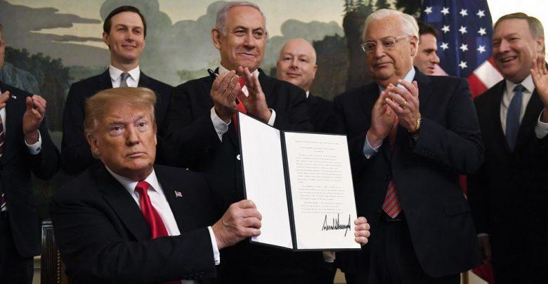 """ترامب:"""" المغرب يستعيد علاقته السياسية والإقتصادية مع إسرائيل"""" 1"""