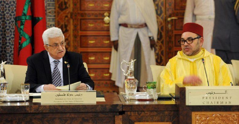 الملك يهاتف الرئيس الفلسطيني ويؤكدثبات المغرب على موقفه الداعم للقضية الفلسطينية 1