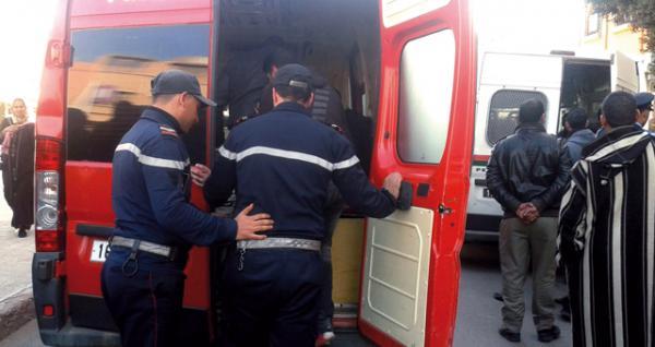 إنقلاب شاحنة بإقليم شفشاون ونجاة السائق بأعجوبة 1
