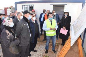 مهيدية يتفقد تقدم أشغال مشروع الطريق الدائري بأصيلة 2