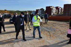 مهيدية يتفقد تقدم أشغال مشروع الطريق الدائري بأصيلة 4