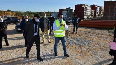مهيدية يتفقد تقدم أشغال مشروع الطريق الدائري بأصيلة 3