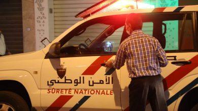 """أمن طنجة يوقف """"العريبي"""" وبحوزته كريموجيل وسيفين 5"""