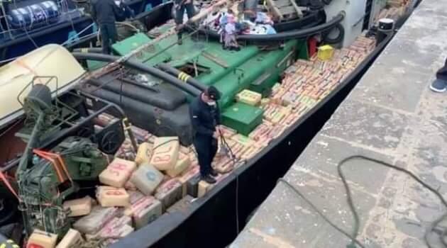 حجز 18 طن من الحشيش في عرض البحر وتوقيف 3 مغاربة 1