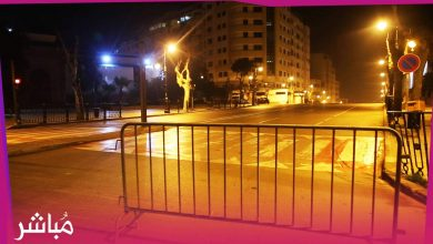 هدوء تام يخيم على شوارع طنجة بعد فرض حظر التجوال 5