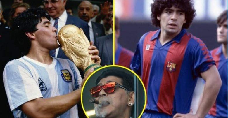 كم بلغت ثروة مارادونا عند وفاته؟ 1