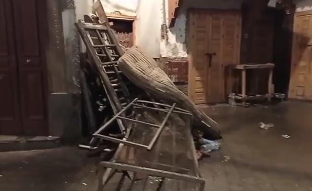 انهيار سقف فرن تقليدي بفعل الأمطار يخلف قتيلا و 4 جرحى 1