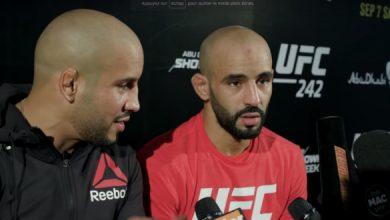 """بسبب تصرفاته..منظمة """"UFC"""" تطرد المقاتل المغربي أبو زعيتر وتفسخ عقده 2"""