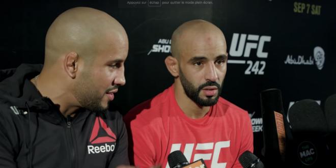 """بسبب تصرفاته..منظمة """"UFC"""" تطرد المقاتل المغربي أبو زعيتر وتفسخ عقده 1"""