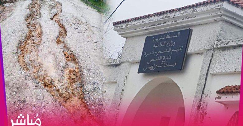 من له المصلحة في تخريب طريق بجماعة البحراويين؟ 1