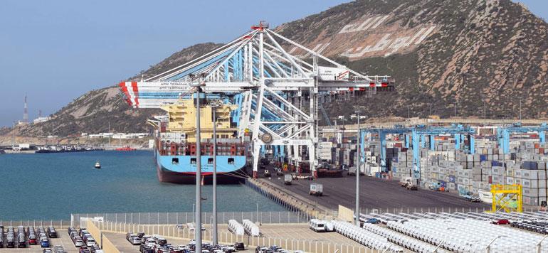 انطلاق الخدمة التجارية لمحطة الحاويات 3 بميناء طنجة المتوسط 2 1